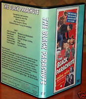 THE BLACK PARACHUTE- DVD - John Carradine, Larry Parks