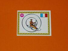 PANINI SPRINT 72 CYCLISME 1972 N°222 ROUSSEAU FRANCE 1869 MONOCYCLE