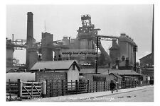 pt0578 - Frodingham Iron & Steel Works , Scunthorpe , Lincolnshire - photo 6x4