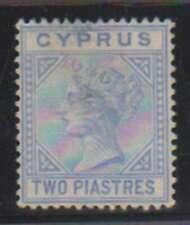 A9349: Cyprus #13 Unused, Thin; CV $525