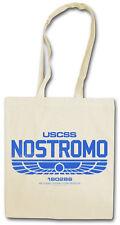 USCSS NOSTROMO HIPSTER BAG - Stofftasche Stoffbeutel -  Alien Weyland Yutani NEW
