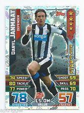 2015 / 2016 EPL Match Attax Star Player (183) Daryl JANMAAT Newcastle