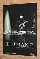 Hitman 2 Silent Assassin / Gran Turismo Concept very rare small Poster 30x42cm