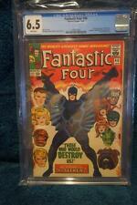 FANTASTIC FOUR #46 CGC 6.5 WHITE PAGES MARVEL COMICS 1/66 1ST APPEAR BLACK BOLT