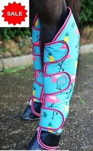 SALE 50% OFF Hy Flamingo Padded Fleece Lined Travel Boots Set Of 4 Cob Size