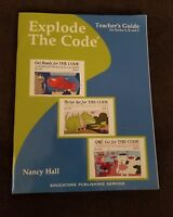 ETC Explode the Code Teacher's Guide Books A, B, & C by Nancy M. Hall (2004)
