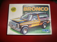 MPC Ford Bronco-Molded Black-1980 NO 1/24 NO TAMIYA NO MONOGRAM ITALERI AMT ERTL