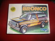 MPC Ford Bronco-Molded Black-1980 NO 1/24 NO TAMIYA NO MONOGRAM ITALERI AMT ERTL