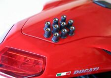 Ducati 848 1098 1198 Rubber Fairing Fasteners / nuts X10 - HIGH QUALITY