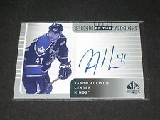 JASON ALLISON KNIGS GENUINE CERTIFIED AUTHENTIC SIGNED AUTOGRAPHED HOCKEY CARD