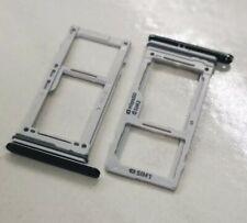Original Samsung Galaxy S9 Dual Sim SD Karten Halter Slot Adapter Tray Schwarz