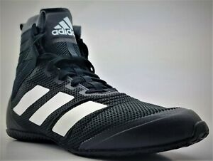 Adidas Speedex 18 Smooth Boxing Shoes F99914 SIZE 9 Black