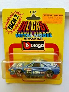 Burago Ferrari 308 GTB Rally Car 1:43 Made In Italy 1983 Mint in Package