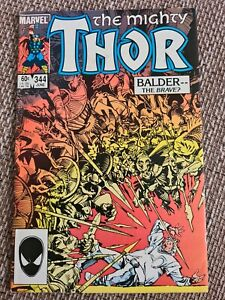 Marvel The Mighty Thor # 344 US