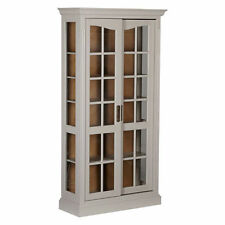 John Lewis Oak Display Cabinets