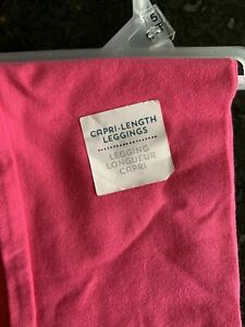 NWT Old Navy Girls Size 5t Pink  Crop Length Leggings New