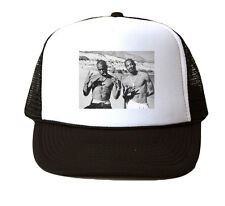 2pac and Snoop Trucker Hat Mesh Cap Snapback Adjustable Brand New-Black