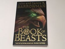 PERSONALLY SIGNED/AUTOGRAPHED JOHN BARROWMAN - THE BOOK OF BEASTS HARDBACK BOOK