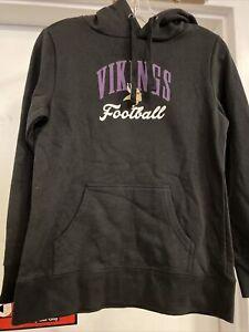 Minnesota Vikings Women's Hoodie Sweatshirt Size Small NWT