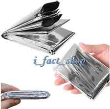 Outdoor Emergency MYLAR Survival Blanket Rescue First-Aid Camp Tent Safety IFA