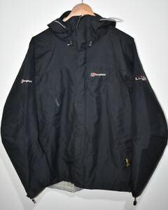 Berghaus Extrem GORE-TEX XCR Waterproof Jacket Hooded Black Outdoor Women UK 14