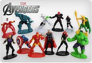 Marvel AVENGERS Cake Toppers / 12 Figures