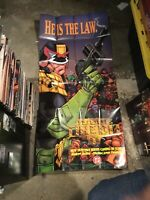 GIANT Judge Dredd He Is The Law 1994 DC Dark Horse Comics Promo Poster 2000 AD