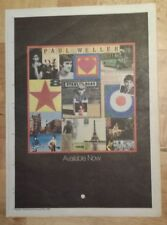 Paul Weller Stanley road 1995 press advert Full page 27 x 38 cm mini poster