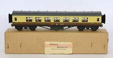 EXLEY OO GWR GREAT WESTERN 1st CLASS CORRIDOR COACH VERY NEAR MINT IN SUPERB BOX