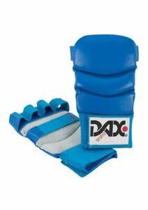 Ju-Jutsu Faustschutz, Jiu Jitsu Gloves / Handschuhe / DAX Kumite 4, Leder, blau
