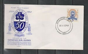 Can 389 - 1960 5c Girl Guides - FDC By Rose Craft