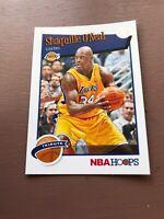 2019-20 Panini NBA Hoops Basketball Tribute 283 Shaquille O'Neal