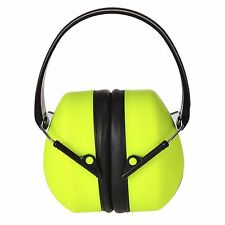 Portwest PS41 Super HV High Visibility  Ear Protector Defenders Muffs