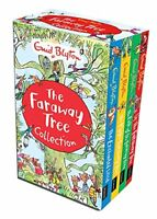 Enid Blyton The Magic Faraway Tree Collection 4 Books Box Set Pack Up The Faraw