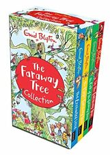 Enid Blyton's The Magic Faraway Tree Collection 4 Books Set Pack Enchanted Wood