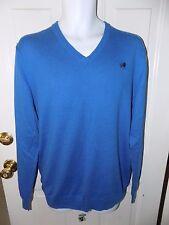 Old Navy Blue V-Neck Long Sleeve Sweater Size L Men's EUC FREE USA SHIPPING
