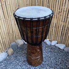 60 cm Djembe Buddha Trommel Top Klang handgeschnitzter Budda Drum by TOMTAO