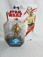 Star Wars Force Link Series 1 C-3PO Figure Hasbro 2016 Aus Seller