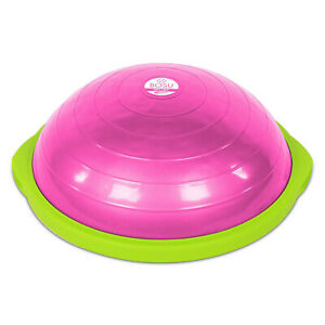 Bosu 72-15850-50PK 50-Cm Travel-Sized Home Gym Workout Balance Trainer, Pink
