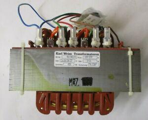 Karl Weiss Transformatoren 90/042/A 100-230v 2x18/24/27v Transformer