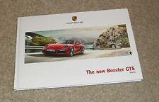 Porsche Boxster GTS Hardback Brochure 2014