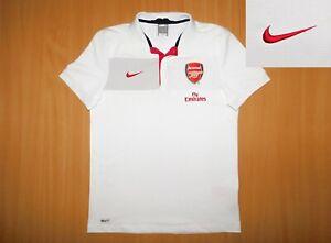 * ARSENAL polo shirt soccer M MEDIUM jersey NIKE London England camisa 2006 2007