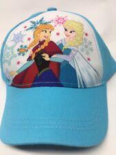 Disney Frozen Girls Kids Cap Baseball Hat Adjustable NWT Elsa Anna