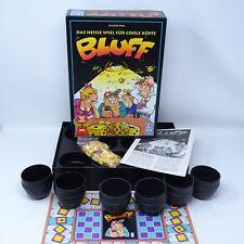 BLUFF Würfelspiel FX Schmid Spiel des Jahres 1993 Brettspiel Zust. GUT- SEHR GUT