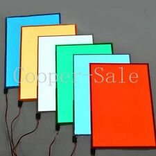 New Electroluminescent A5 Cuttable EL Panel White/Aqua/Blue/Red Paper Neon Sheet