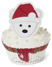 Polar Bear Christmas Cupcake Decorating Kit from Wilton 1955 - NEW