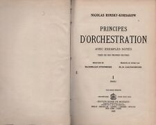 Principes d'orchestration avec exemples notés. N. Rimsky-Korsakow. SLB6