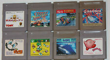 Kirby, Mario Picross, Yoshi, ALLEYWAY, course automobile GAME BOY CLASSIC Jeux-Choix