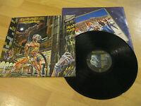 LP Iron Maiden Somewhere in Time Heavy Metal Vinyl CAPITOL SJ-12524