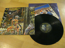 LP Iron Maiden Somewhere in Time Heavy Metal Vinyl CAPITOL SJ-12524